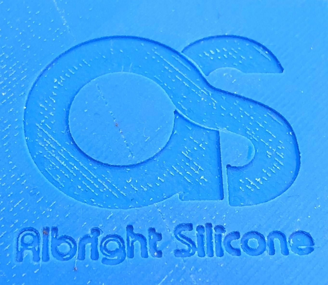 3D Albright Silicone Logo
